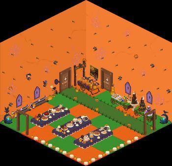 ナギハロウィンroom.jpg
